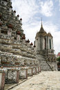 Wat arun temple of the dawn bangkok thailand Royalty Free Stock Photography