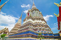 Wat arun the temple di dawn bangkok thailand Fotografia Stock