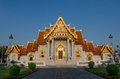 Wat benchamabophit dusitvanaram is a buddhist temple wat in the dusit district of bangkok thailand also known as marble Royalty Free Stock Photos