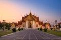 Wat Benchamabophit Dusitvanaram Temple in Bangkok, Thailand