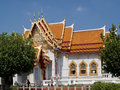 Wat benchamabophit marbel palace in bangkok Stock Photo