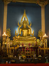 Wat benchamabophit marbel palace statue of buddha in Stock Photos