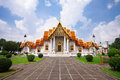 Wat Benchamabopit, historical temple in Thailand Stock Photos