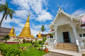 Wat bot mueang chanthaburi at thailand Stock Image