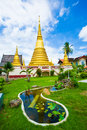 Wat bot mueang chanthaburi at thailand Royalty Free Stock Photography