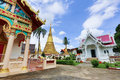 Wat bot mueang chanthaburi at thailand Stock Photography