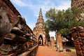 Wat Chai Wattanaram Ayuthaya, Thailand Royalty Free Stock Photo