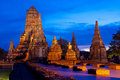 Wat Chaiwattanaram Royalty Free Stock Image