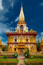 Wat chalong Royalty Free Stock Photos