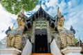 Wat Chedi Luang temple from Chiang Mai,Thailand Royalty Free Stock Photo