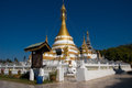 Wat Jong Klang temple, Mae Hong Son Royalty Free Stock Photo