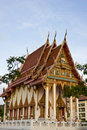 Wat Khao Lan Thom Temple Stock Photography