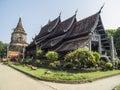 Wat Lok Moli at Chiangmai, Thailand Royalty Free Stock Photography