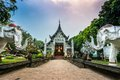 Wat Lok Moli temple in Chiang Mai Royalty Free Stock Photo