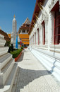 Wat Mahathat in Bangkok Royalty Free Stock Photo
