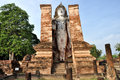 Wat mahathat sukhothai historical park which covers ruins old city sukhothai thailand park was declared unesco world heritage site Stock Photography