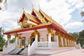 Wat Mongkolrata Buddhist Thai Temple Royalty Free Stock Photo
