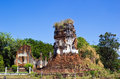 Wat Nakhon Kosa temple Royalty Free Stock Image