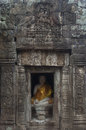 Wat nokor cambodia buddha statue at kompong cham Stock Images