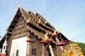 Wat pan tao in chiang mai thailand Royalty Free Stock Photo
