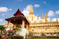 Wat Pha-That Luang Stock Photography