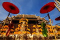 Wat Phan Tao temple Royalty Free Stock Images