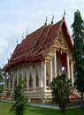 Wat in Phang Nga Stock Image