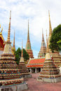 Wat pho bangkok thailand means temple in thai the temple is one of bangkok s most famous tourist sites Stock Photo