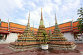 Wat pho bangkok thailand means temple in thai the temple is one of bangkok s most famous tourist sites Stock Photography