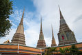 Wat pho bangkok thailand means temple in thai the temple is one of bangkok s most famous tourist sites Royalty Free Stock Images