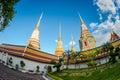 Wat pho Bangkok, Thailand. The official name being Wat Phra Chetuphon Vimolmangklararm Rajaworamahavihara. beautiful temple in Tha