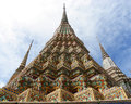 Wat pho bangkok thailand wat means temple in thai the temple is one of bangkok s most famous tourist sites outdoot Stock Image