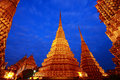 Wat pho or phra chetuphon bangkok thailand means temple in thai the temple is one of bangkok s most famous tourist sites Stock Images