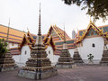 Wat Pho Temple Stock Photos
