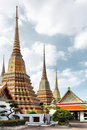 Wat Pho temple. Bangkok Stock Photography