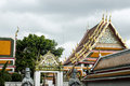 Wat Pho Temple Bangkok Thailand architecture 4 Royalty Free Stock Photo