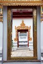 Wat Pho, Temple of the Reclining Buddha Stock Photography