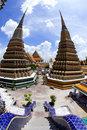 Wat Pho in Thailand Royalty Free Stock Images
