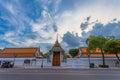 Wat Pho or Wat Phra Chetuphon Royalty Free Stock Photo
