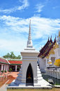 Wat phra borommathat chaiya temple in chaiya surat thani is an amazing tourist spot it is an ancient chedi this ancient chedi or Royalty Free Stock Photo