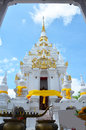 Wat phra borommathat chaiya temple in chaiya surat thani is an amazing tourist spot it is an ancient chedi this ancient chedi or Royalty Free Stock Photography