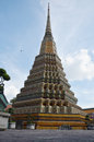 Wat phra chetuphon vimolmangklararm rajwaramahaviharn locally known as wat pho bangkok the capital of the kingdom of thailand is Royalty Free Stock Image