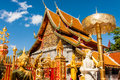 Wat Phra That Doi Suthep, Chiang Mai, Thailand Royalty Free Stock Photos