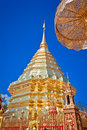 Wat phra that doi suthep temple chiang mai thailand Royalty Free Stock Photography