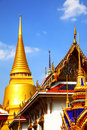 Wat Phra Kaeo temple Royalty Free Stock Photography