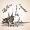 Wat Phra Kaew - Bagkok, Thailand.