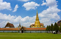 Wat Phra Kaew in Bangkok Royalty Free Stock Photo
