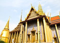 Wat Phra Kaew in bangkok , thailand. Stock Photography