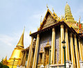 Wat Phra Kaew in bangkok , thailand. Royalty Free Stock Images