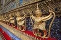 Wat Phra Kaew, Bangkok, Thailand Royalty Free Stock Photo